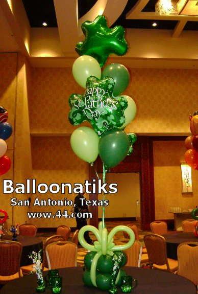 St Patricks Balloon Delivery and Decoration San Antonio