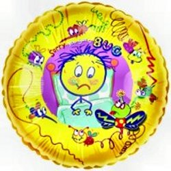 Get Well Feel Better Cheer You Best Wishes Balloon